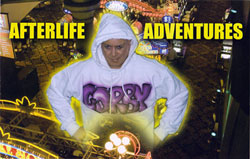 Gold, also a Science Fiction writer, conducts live role playing games known as Afterlife Adventures